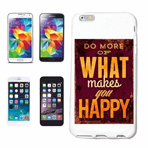 caja del teléfono iPhone 7S Hacer más de lo que te hace feliz vida del vintage de manera gótico MOTORISTA STREETWEAR PARIS MILAN NEW YORK Caso duro de la cubierta Teléfono Cubiertas cubierta para el