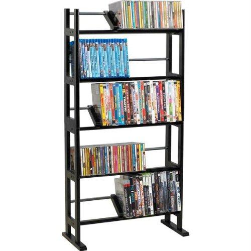CA0027-230-CD/150-DVD/Blu-rays Element Wood/Metal Multimedia Storage Rack by Atlantic