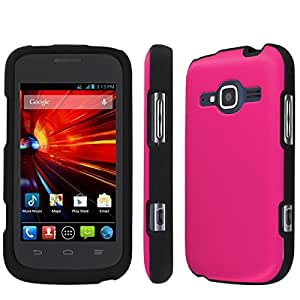 [NakedShield] T-Mobile Concord II 2 / ZTE Condord II 2 (Rose Pink) Total Armor Snap-On Phone Case