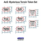 AoS: Mysterious Terrain Token Set (36)