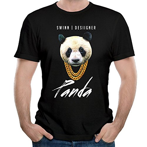 Men's Panda Desiigner New Wave Rap Song 100% Cotton Short Sleeve T-shirt