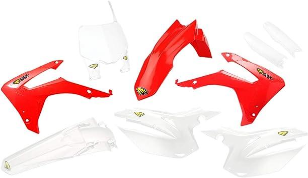 Cycra Powerflow Plastic Kit Red for 13-16 Honda CRF450R