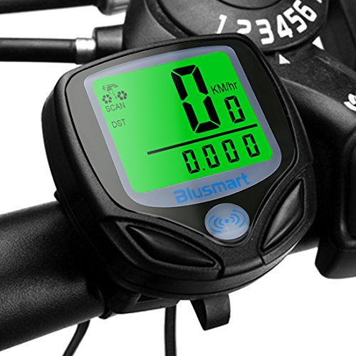 Sport Wireless Cycle Computer Automatic Wake-up Bike Computer with...