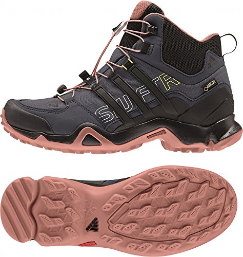 low priced d3177 2b92d adidas Terrex Swift R Mid GTX W - Zapatillas para Mujer, Color  GrisNegroRosa, Talla 40 23 Amazon.es Zapatos y complementos