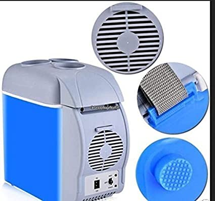 f48dffb67 Buy Xectes 12V 7.5L Mini Warming and Cooling Vehicle Refrigerator Car  Freezer Fridge Hot and Cold Double for Car and Home Use Online at Low Prices  in India ...