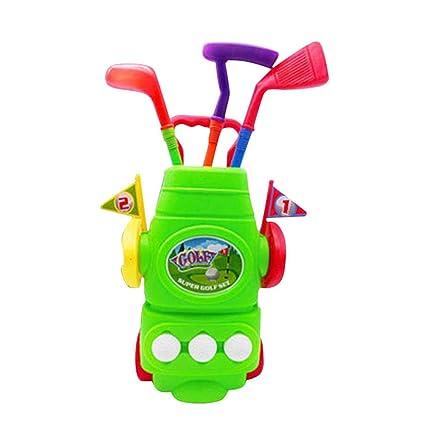 Crewell - Juego de Palos de Golf para niños con Palos de ...