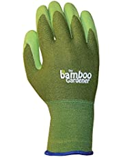Lfs Glove Bellingham C5301L Bamboo Liner Palm, Green, Large
