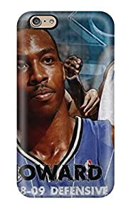 DJbAgCP6343WcsNp Case Cover Protector For Iphone 6 Dwight Howard Case(3D PC Soft Case)