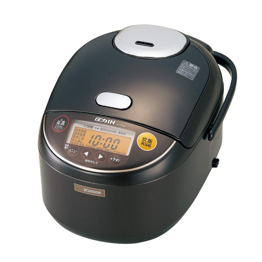 象印 炊飯器 圧力IH式 1升炊き ダークブラウン NP-ZD18-TD   B073XZ732F