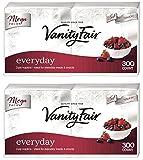 Vanity Fair Everyday Napkin, 300 Count, 2 Packs
