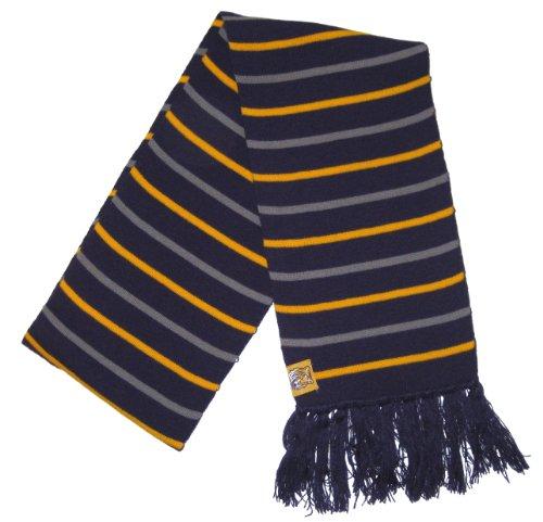 Striped Shirt Tigers Lsu (Louisiana State University LSU Tigers NCAA Purple Gold & Gray Striped Knit Winter Scarf)