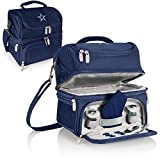 NFL Dallas Cowboys Digital Print Pranzo Personal Cooler, One Size, Navy