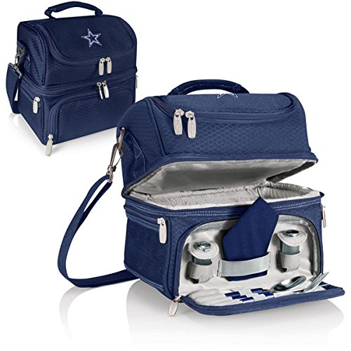 NFL Dallas Cowboys Digital Print Pranzo Personal Cooler, One Size, Navy by PICNIC TIME