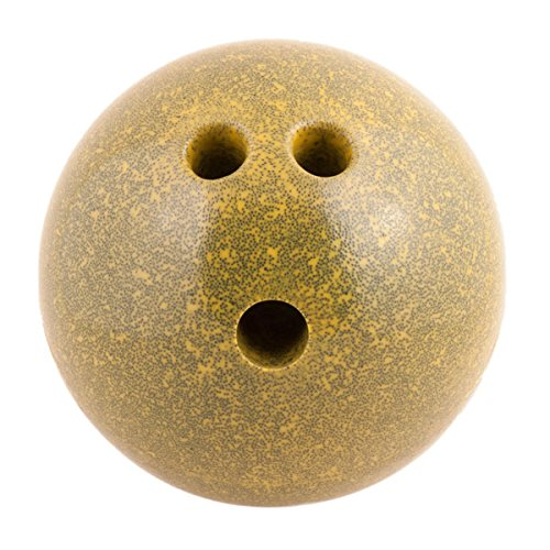 Champion Sports Plastic Bowling Ball: Rubberized Soft Ball for Training & Kids Games - Candlepin Bowling Games