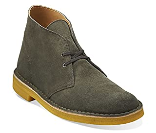 CLARKS Men's Desert Boot,Green Suede/Yellow Crepe,US 10 M (B00HUG2RKI) | Amazon price tracker / tracking, Amazon price history charts, Amazon price watches, Amazon price drop alerts