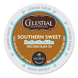 Celestial Perfect Iced Tea Southern Sweet Keurig K-Cups, 22 Count