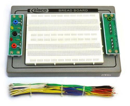 Eisco Labs Bread Board & 150 piece Jumper Wire Set