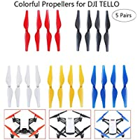 JointVictory Handheld Storage Bag + 5-Colors Quick Release Propellers Low-Noise Blades for DJI TELLO Drone (5 colors)
