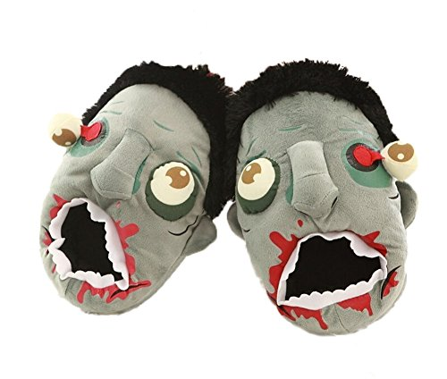 Zombie Slippers Halloween Plush Cotton House Slippers Shoes by Veribuy (Image #5)