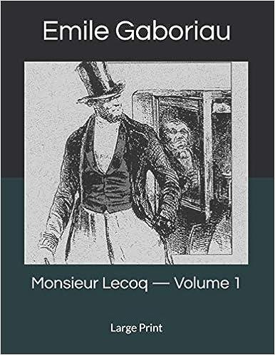 Monsieur Lecoq —