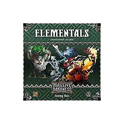 Massive Darkness: Enemy Box - Elementals: Toys & Games [5Bkhe0706215]