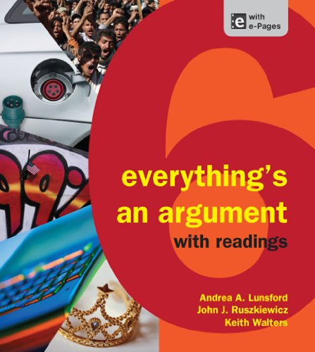 Download Everything's an Argument with Readings Pdf