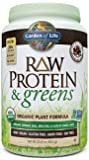 Garden of Life Raw Protein and Greens, Chocolate, 611 Gram