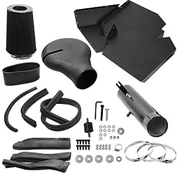 Carpartsinnovate For Dodge 94-01 Ram 1500 5.2L 5.9L V8 Glossy Black Cold Air Intake Induction+Filter