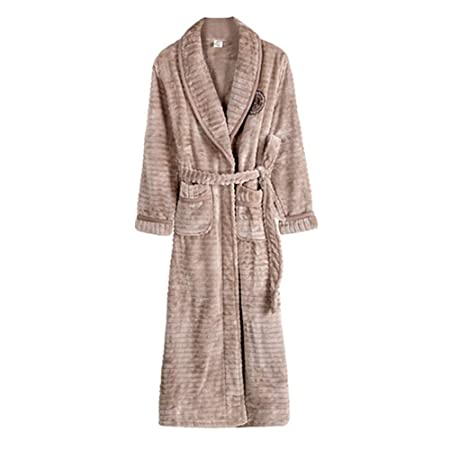 81e6944f48 NAN liang Pure 100% Cotton Luxury Terry Towelling Bath Robes Dressing Gowns  Housecoat + Belts