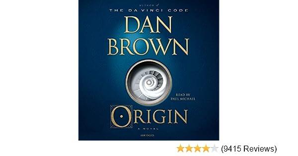 dan brown origin audiobook