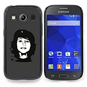 """For Samsung Galaxy Ace Style LTE/ G357 , S-type Che Rebel Chica"""" - Arte & diseño plástico duro Fundas Cover Cubre Hard Case Cover"""