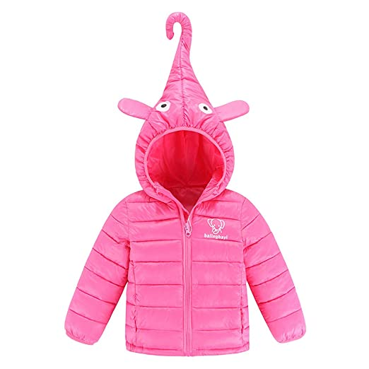 aa9d4ebe59c01 Mandy Toddler Boy Kids Winter Hoodies Outwear Overcoat Baby Boys Dress for Girls  Clothes Outfits❤