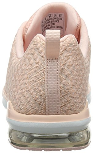 Ltpk Skechers Baskets Femme all Aglow Infinity Air light Pink Rose 6Onxz6U