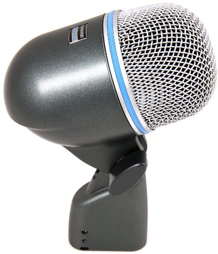 Shure BETA 52A Supercardioid Dynamic Kick Drum Microphone with High Output Neodymium Element by Shure