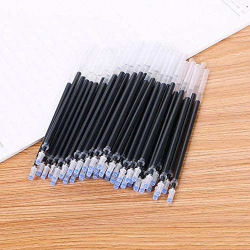 Lsgepavilion 20PCS 0.5/ mm Penpoint penna gel refill Ink ago tubo ufficio scuola supplies blu