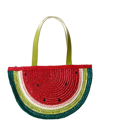 Flada, Borsa a mano donna rosso Red medium