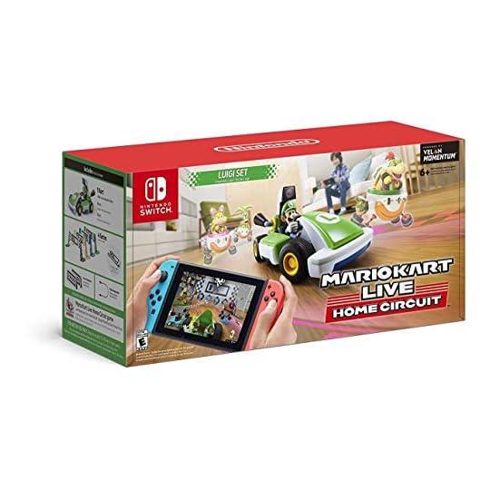 Mario Kart Live: Home Circuit -Luigi Set – Nintendo Switch Luigi Set Edition