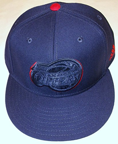 NBA Los Angeles Clippers Flat Bill Fitted Adidas Hat 7 3/4 - G127M (Los Clippers Flat Angeles)