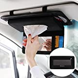 paper towel box for creative car skylight sunshade board hanging type carton napkin extraction tissue cover pu leather sun visor holder card parking number plate storage organizer phone case