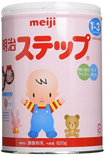 Meiji step milk powder 820g x 6 box by Meiji