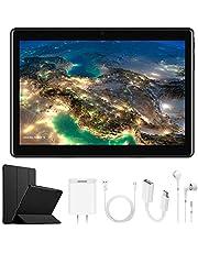 4G Tablet 10.1 Pollici con Wifi Offerte DUODUOGO Tablet PC Offerte Android 7.0 con Slot per Scheda SIM Doppio OTG 8500mAh Memoria RAM da 2GB+32GB 8MP Camera Quad Core Tablet Sbloccato Bluetooth