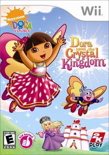 Dora the Explorer: Dora Saves the Crystal Kingdom - Nintendo Wii by 2K