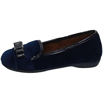 VULCA-BICHA 1207 Zapatos Mocasines NIÑA Manoletinas Marino 32: Amazon.es: Zapatos y complementos