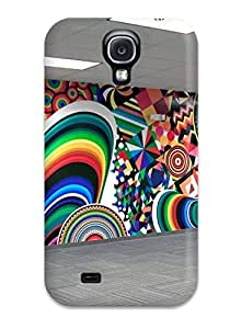 Galaxy S4 CTcfpoa1681FEIVe Rhino 3d Abstract Design Ideas Tpu Silicone Gel Case Cover. Fits Galaxy S4