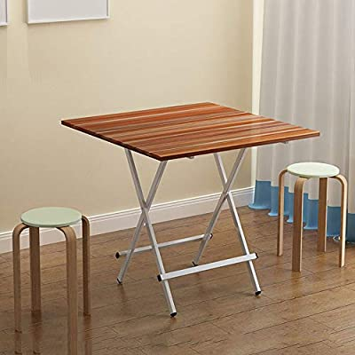 Square Home 3 Size Fácil De Plegar Mesa De Comedor Pequeño ...