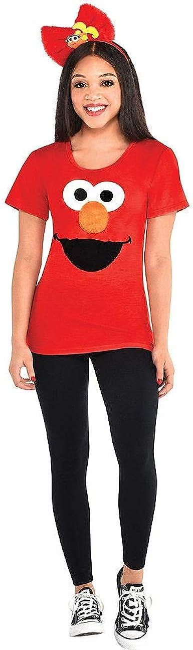 Party City Elmo - Disfraz de Elmo para mujer (incluye camisa y ...