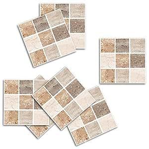 Adhesivo para azulejos pared cocina pegatinas de vinilo art wall decal para sal n dormitorio tv - Pegatinas para azulejos ...