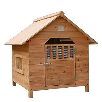 Casa de mascotas, Perrera de Madera de Abeto, Perro pequeño, casa de Perros, Nido de Mascotas, Jaula para Perros: Amazon.es: Hogar
