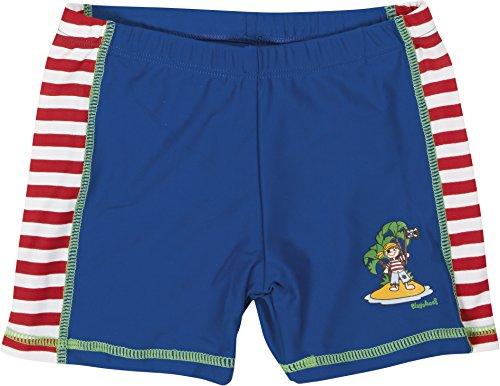 Playshoes Jungen Badeshorts Badeshorty Pirateninsel, UV-Schutz nach Standard 801 und Oeko-Tex Standard 100, Gr. 110 (Herstellergröße: 110/116), Mehrfarbig (original 900)