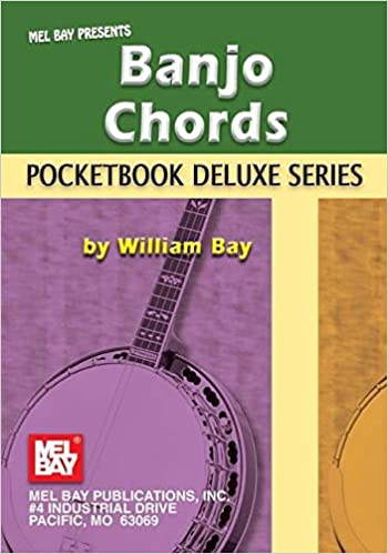 Pocketbook Deluxe Series Bass Guitar Chords Chord Book by William Bay